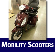 Burgundy Scooter